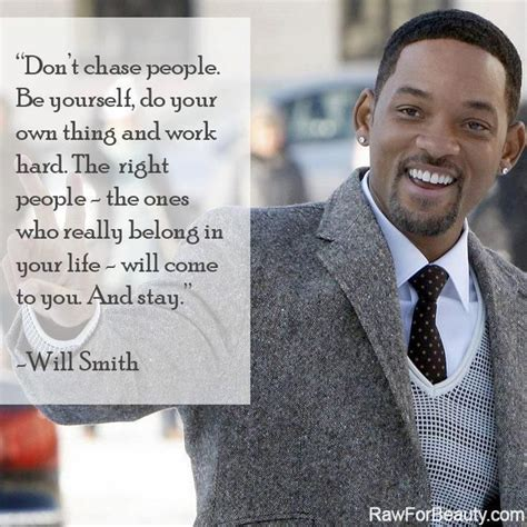 Is Will Smith Really by Don T Be Yourself Do Your Own Thing And