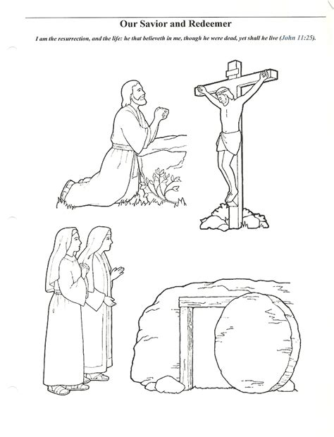 lds coloring pages for easter happy clean living primary 2 lesson 45 easter