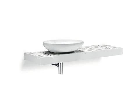 bagno cer piano lavabo singolo in ceramica flow cer by a e t italia