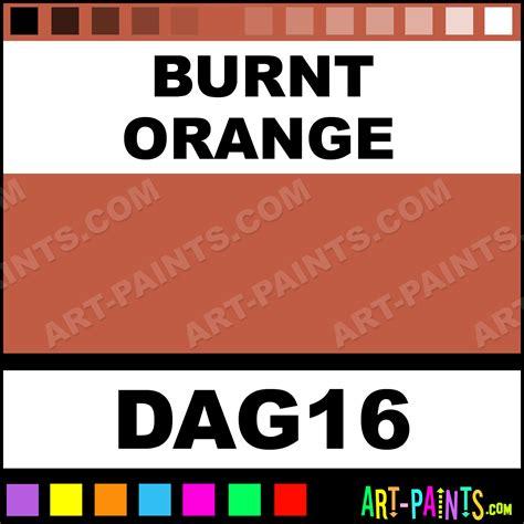 burnt orange acrylic enamel paints dag16 burnt orange paint burnt orange color decoart