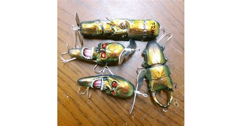 Wood Bathtub 20 Weirdest Looking Fishing Lures That Actually Work Pics