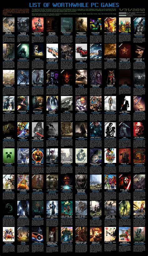 new game for pc 2013 list free download full version list of worthwhile pc games i n f o r m a t i o n 2 s h