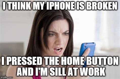 Broken Iphone Meme - what gives imgflip