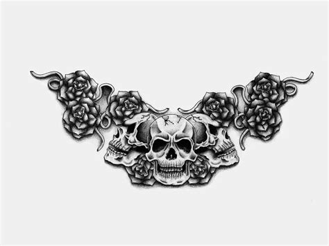 black skull tattoo designs 30 best designs