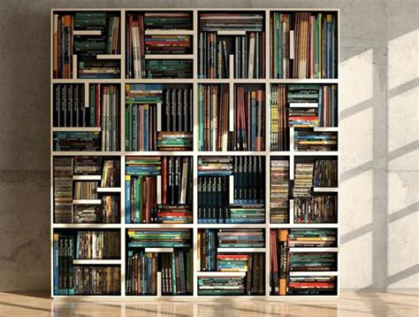 another optical illusion bookshelf