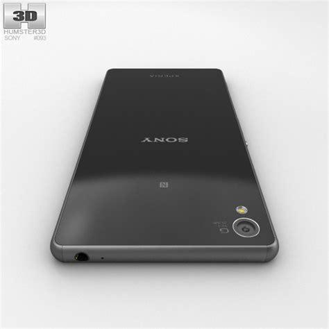 Sony Xperia Z3 Black sony xperia z3 black 3d model hum3d