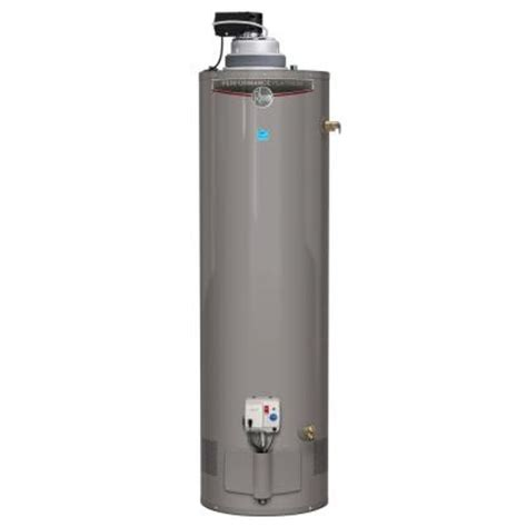 how much does a residential gas water heater and