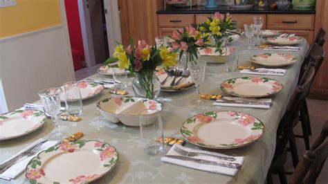 table settings for dinner easter table setting multi cultural cooking network