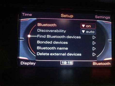 Audi Mmi Update Bluetooth by A4 B8 Mmi 3g Bluetooth Cannot Be Activated Audiworld Forums