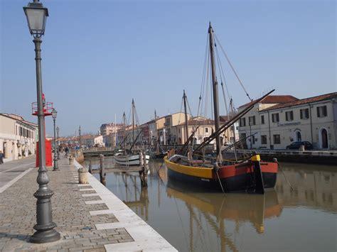 porto canale il porto canale come luogo della memoria di cesenatico