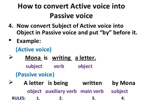 business letter passive voice or active voice active voice and passive