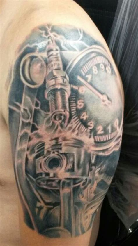 motor city tattoo supply 25 beste idee 235 n motor tatoeage op