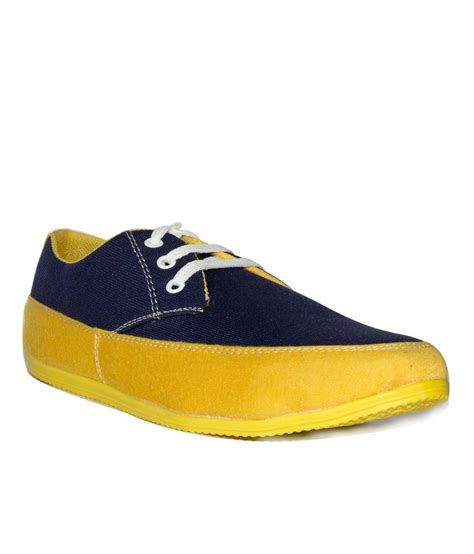 aaros yellow canvas shoes price in india buy aaros yellow