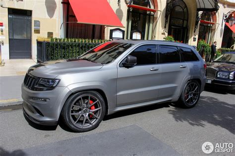 jeep matte grey jeep grand cherokee srt 8 2013 hennessey hpe800 26