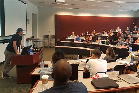 Uga Mba by Matt Fishman 13mba Gives Business Classroom Advice To One
