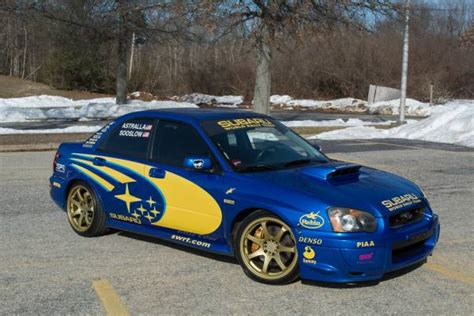 subaru world 2005 subaru wrx sti in world rally blue auto restorationice