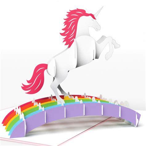 rugged pop up cers unicorn pop up birthday card lovepop