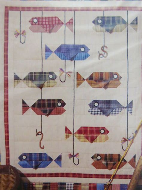 Patchwork Fish Pattern - best 25 fish quilt ideas on