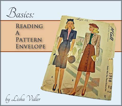 reading a pattern envelope worksheet answers basics reading a pattern envelope yesterday s thimble