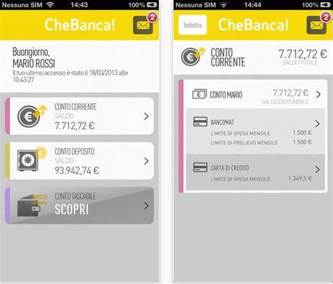 Conto Deposito Che Banca by Chebanca 232 Ora Disponibile Su App Store Iphone Italia