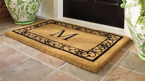 modern door mat cool modern doormats shore tall polyterrazo planter