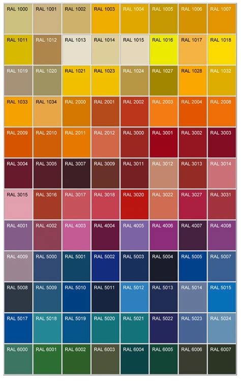 1000 ideas about ral color chart on ral colours colour chart and tanker desk