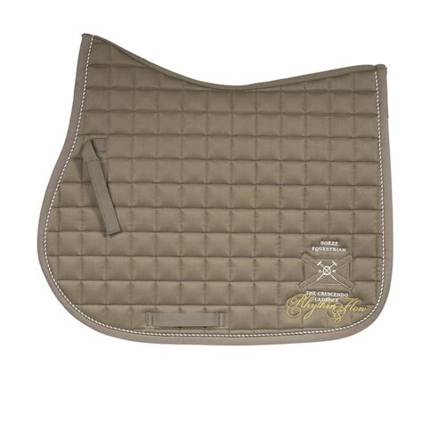 Olive Pad eventing saddle pad brown white blue olive saddle pads