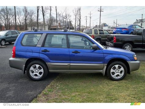 2004 Subaru Forester 2 5 Xs by 2004 Pacifica Blue Pearl Subaru Forester 2 5 Xs 63320290