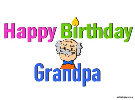 grandfather birthday card template 30 best images about birthday on coloring