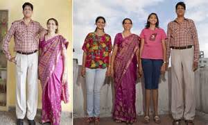 New Dasi Kotak Set 044 meet the kulkarnis india s tallest family with a combined