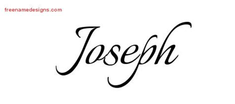 joseph archives free name designs
