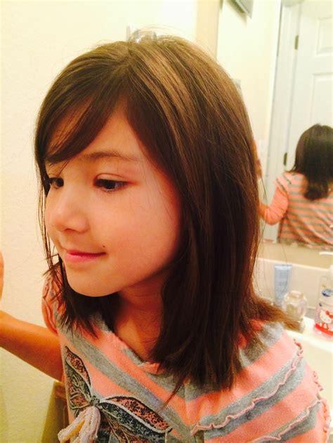 shoulder length bob haircuts for kids medium length little girl hair cut hair cuts