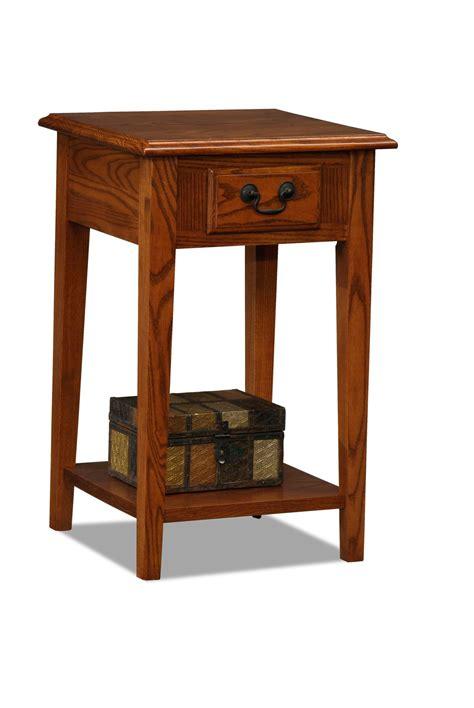 leick shaker coffee table leick shaker square end table medium oak home