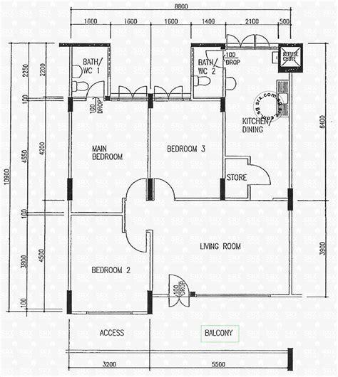 hdb floor plans floor plans for bishan 11 hdb details srx property