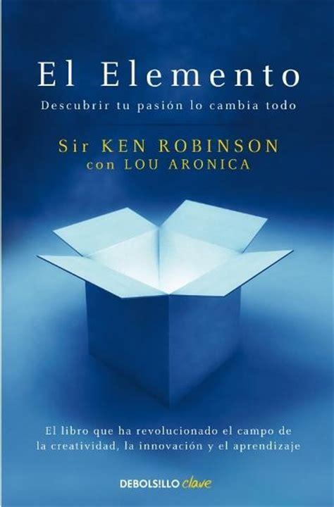 el elemento ken robinson comprar libro en fnac es
