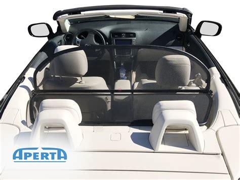 lexus   wind deflector   cabrio supply