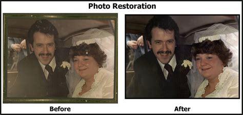 Wedding Album Restoration by Dave Henrys Photography Photograph Restoration