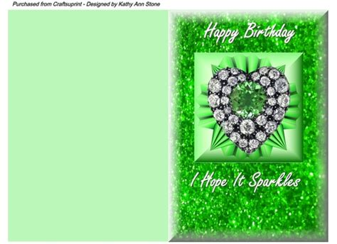 quick printable birthday cards quick birthday card lovely sparkle a5 size for ladies
