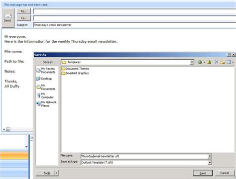 how to setup a template in outlook 2010 get organized how to set up email templates pcmag