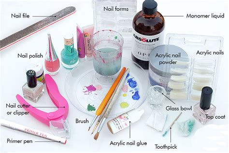 How To Do Nail With Tools a tutorial on how to do acrylic nails