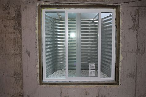 window in basement egress window as essential in basement finishing vista