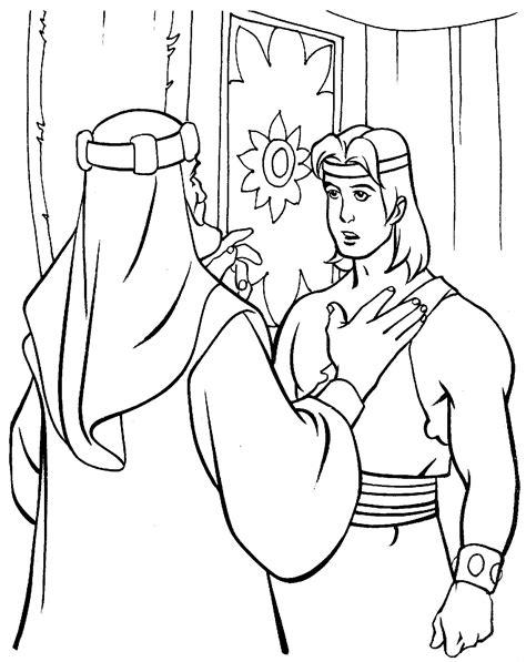 coloring pages lds lds coloring pages nephi