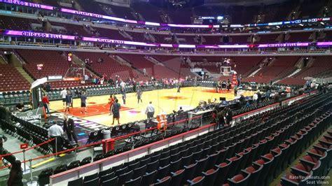 united center section 120 united center section 103 chicago bulls rateyourseats com