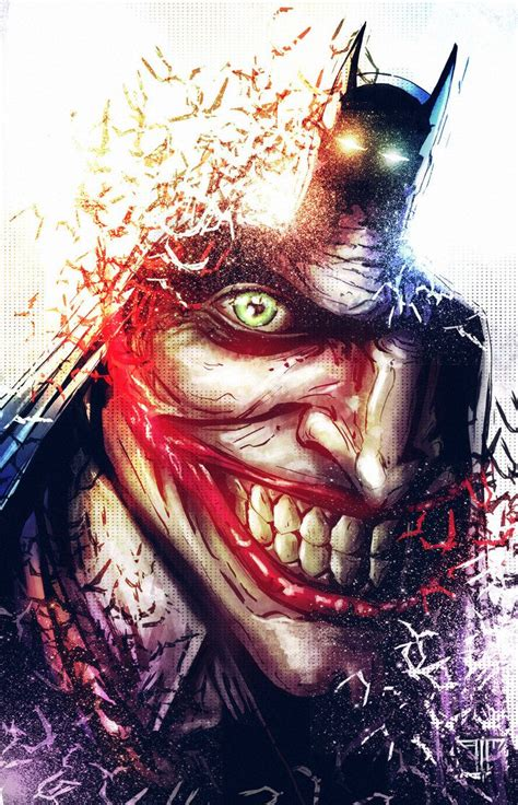 imagenes de el joker llorando collection of 25 batman vs joker comic tattoo design