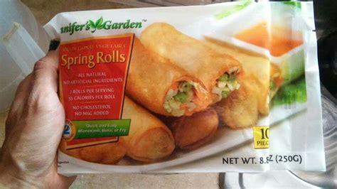 jennifer garden spring rolls dollar tree vegan
