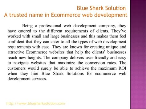 blue shark solution  trusted   ecommerce web