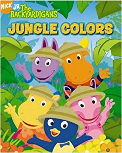 Backyardigans Books Jungle Colors The Backyardigans
