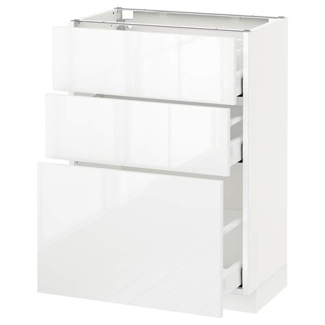ikea kitchen bodbyn base cabinet with 3 drawers 1 metod maximera base cabinet with 3 drawers white ringhult