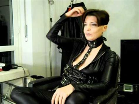 mistress cuts hair tube taglio capelli trucco cut hair make up fetish youtube