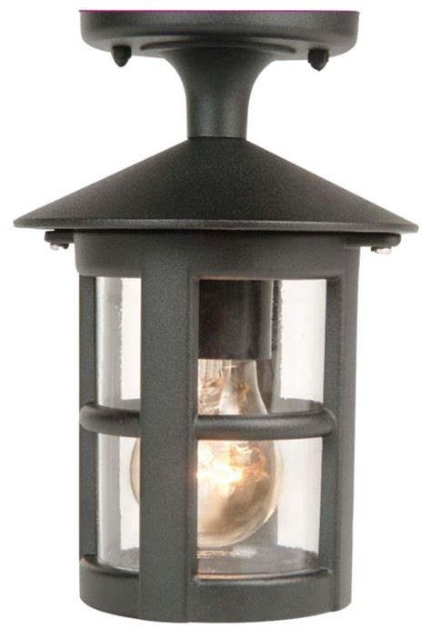 Outdoor Wall Lights B Q B Q Whistler Outdoor Wall Light In Black Wall Light Review Compare Prices Buy